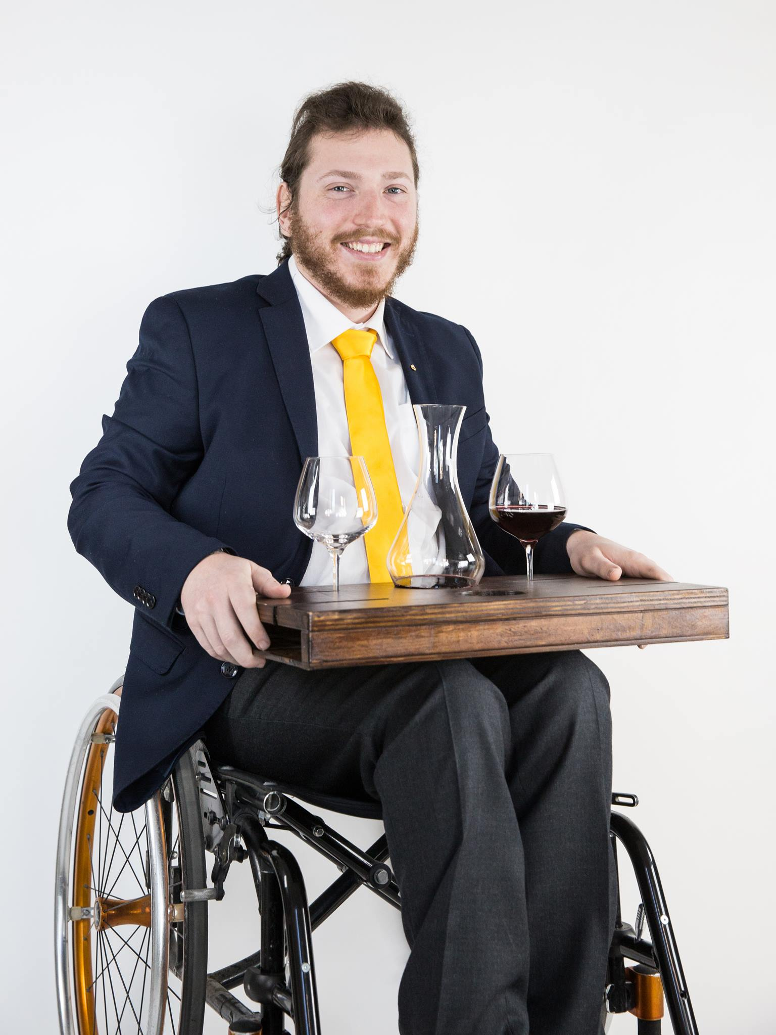 Mirko Pastorelli Wheelchair Sommelier